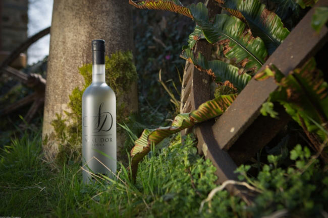 Aval Dor Cornish Vodka Shoot