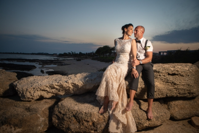 Destination Wedding in Aiya Napa Cyprus - Sophie and Colin