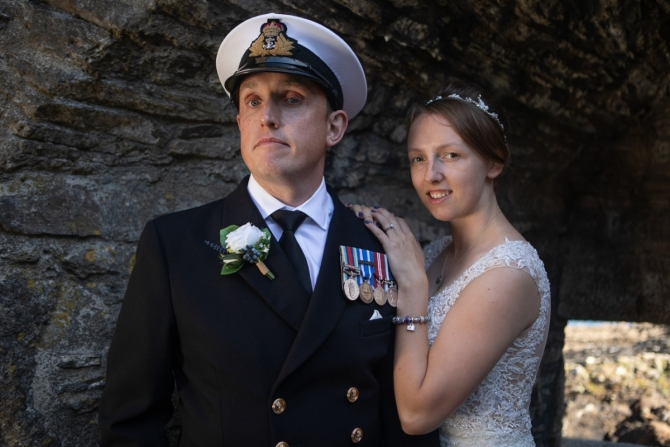 Covid Wedding - Truro Registry Office Wedding Photographer - Dani & Chris