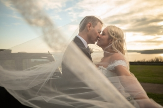 Pendennis Castle Wedding - Gemma and Chris