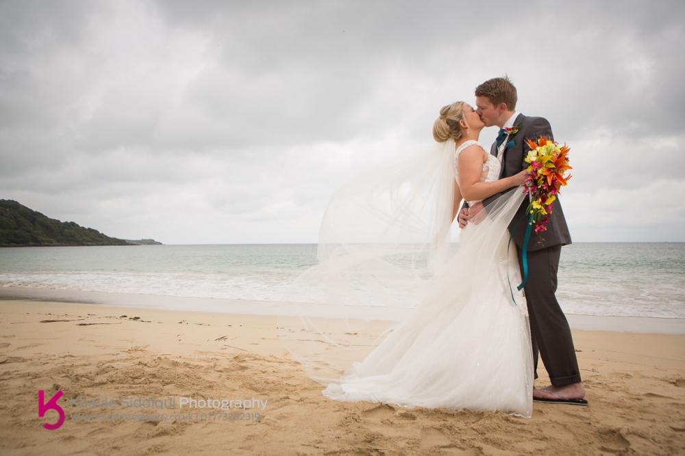 Carbis Bay Wedding Emma David