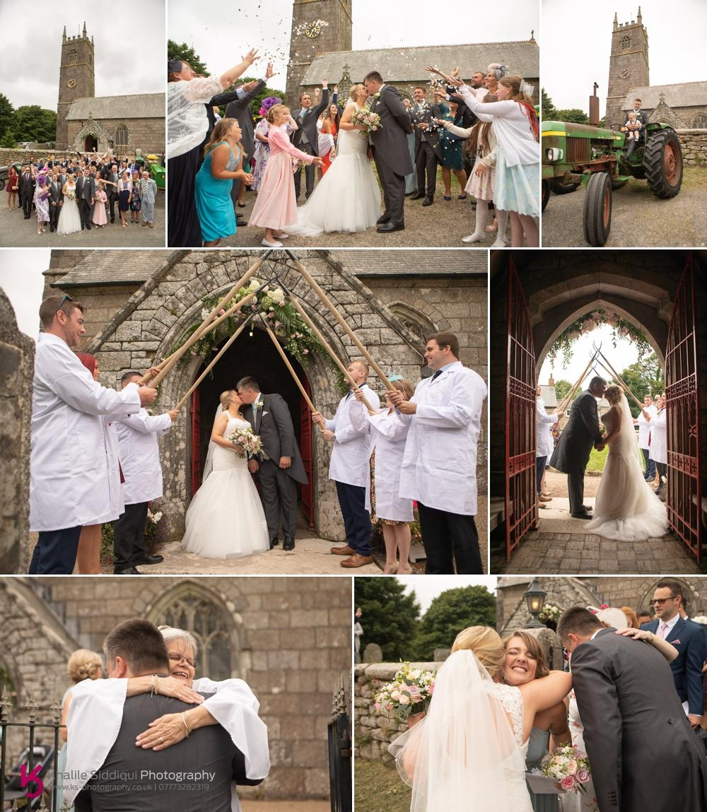 Cornish Marquee Wedding